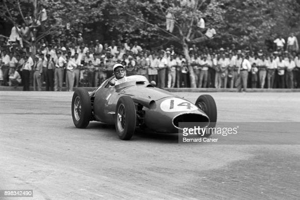 Gino Munaron Maserati 250F Grand Prix of Argentina Autodromo Oscar Alfredo Galvez Buenos Aires 07 February 1960