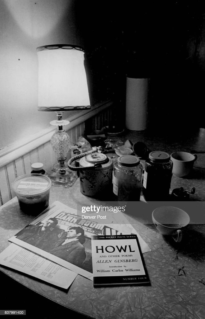 Ginsberg\'s kitchen table. Credit: The Denver Post News Photo - Getty ...