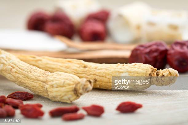 Ginseng and other Chinese herbal medicine