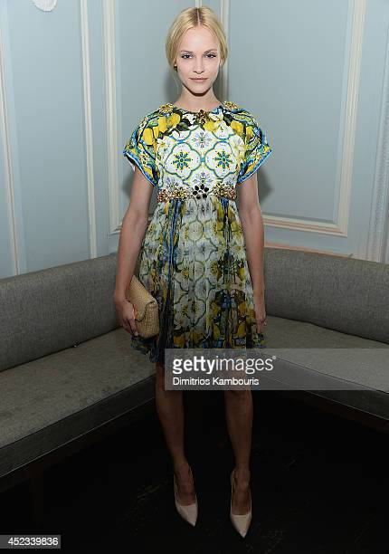 Ginta Lapina attends 'Magic In The Moonlight' premiere after party at Harlow on July 17 2014 in New York City