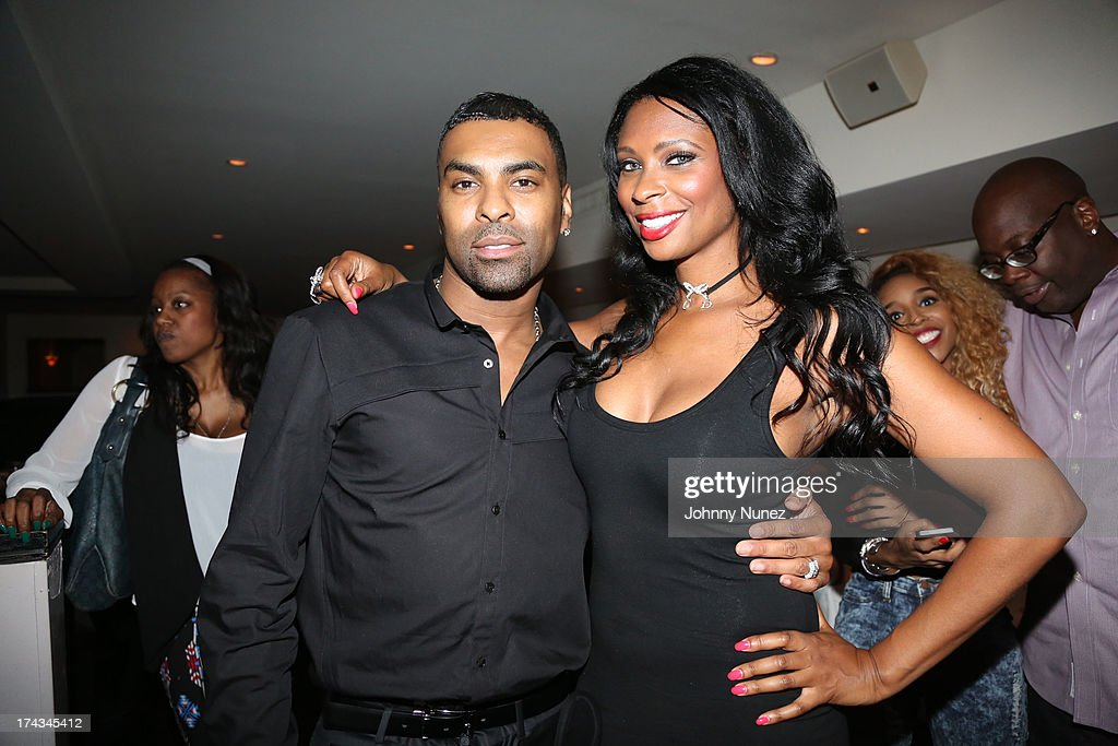 Ginuwine and Jennifer Williams attend TGT's '3 Kings' Listening & Intimate Dinner at Philippe Restaurant on July 23, 2013 in New York City.