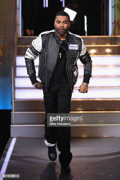 Ginuwine attends the Celebrity Big Brother male contestants launch night at Elstree Studios on January 5 2018 in Borehamwood England