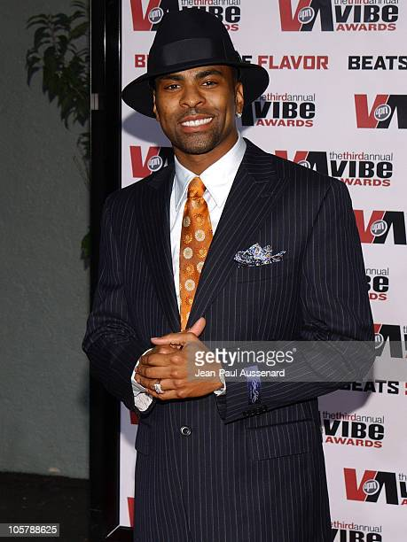 Ginuwine during 2005 Vibe Awards Arrivals at Sony Studios in Culver City California United States