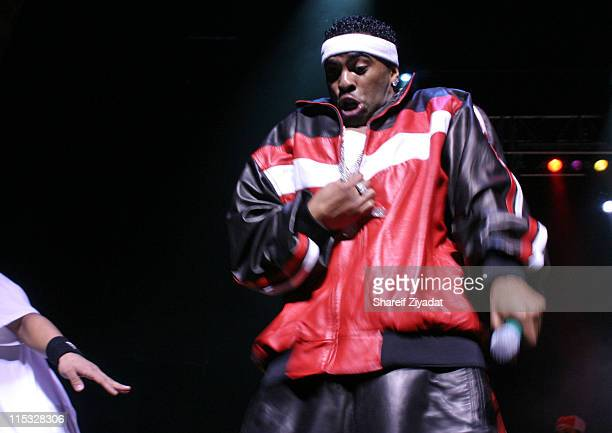 Ginuwine during Ginuwine Joe Avant and Jagged Edge Concert February 28 2004 at Beacon Theater in New York City New York United States