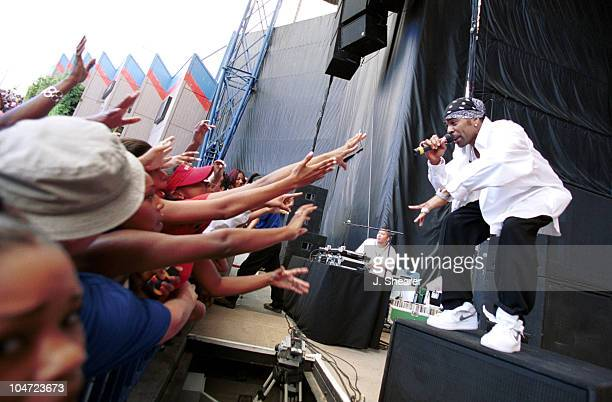 Ginuwine during KMEL 106 FM San Francisco All Star Summer Jam 2001 at Shoreline Amphitheatre in Mountain View California United States