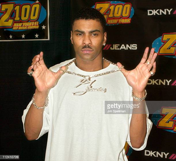 Ginuwine during Z100's Zootopia 2003 Press Room at Giants Stadium in East Rutherford New Jersey United States