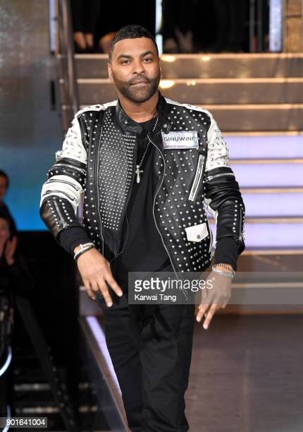 Ginuwine enters the Celebrity Big Brother house at Elstree Studios on January 5 2018 in Borehamwood England