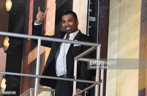 Ginuwine is evicted during the Celebrity Big Brother live eviction at Elstree Studios on January 23 2018 in Borehamwood England