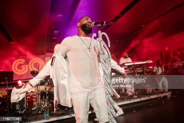Ginuwine performs at the 25th Essence Festival at the MercedesBenz Superdome on July 07 2019 in New Orleans Louisiana