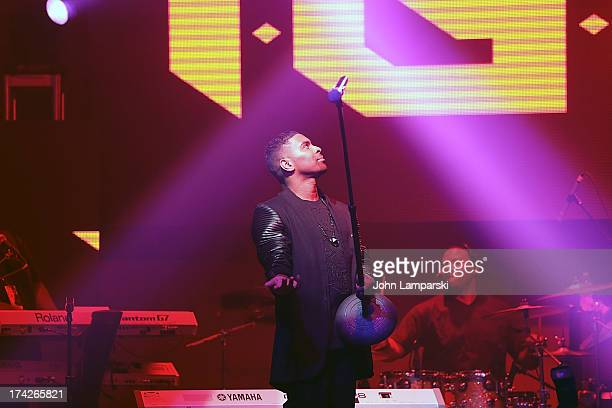 Ginuwine performs during Spotlight Live Summer Series NYC at Stage 48 on July 22 2013 in New York City