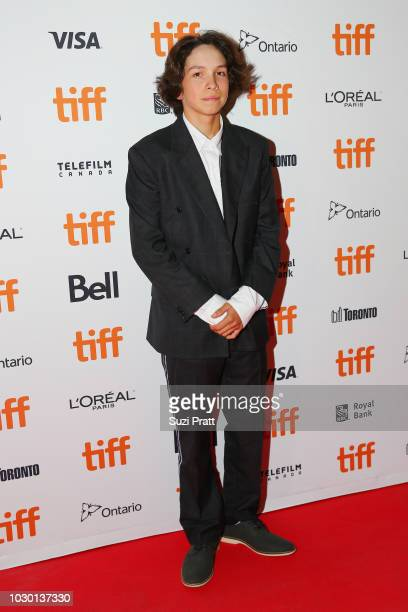 Gio Galicia attends the Mid90s premiere during 2018 Toronto International Film Festival at Ryerson Theatre on September 9 2018 in Toronto Canada