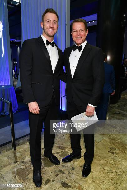 Gio Graziano and Shepard Smith attend the Committee to Protect Journalists' 29th Annual International Press Freedom Awards on November 21 2019 in New...