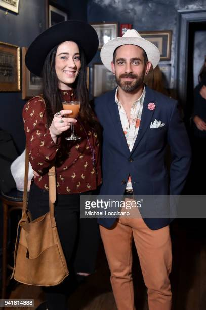 Gio Gutierrez attends an immersive theatrical experience 'Amparo' presented by HAVANA CLUB Rum on April 3 2018 in New York City