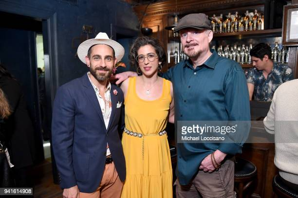 Gio Gutierrez Vanessa Garcia and T J English attend an immersive theatrical experience 'Amparo' presented by HAVANA CLUB Rum on April 3 2018 in New...