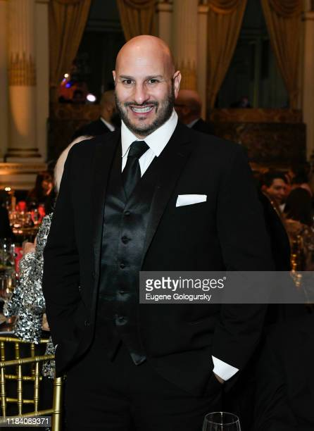 Gio Messale attends the The 36th Annual Drama League Benefit Gala at The Plaza Hotel on October 28, 2019 in New York City.