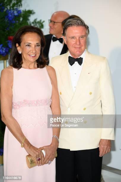 Gio Repossi and Alberto Repossi attend the 71th Monaco Red Cross Ball Gala on July 26, 2019 in Monaco, Monaco.