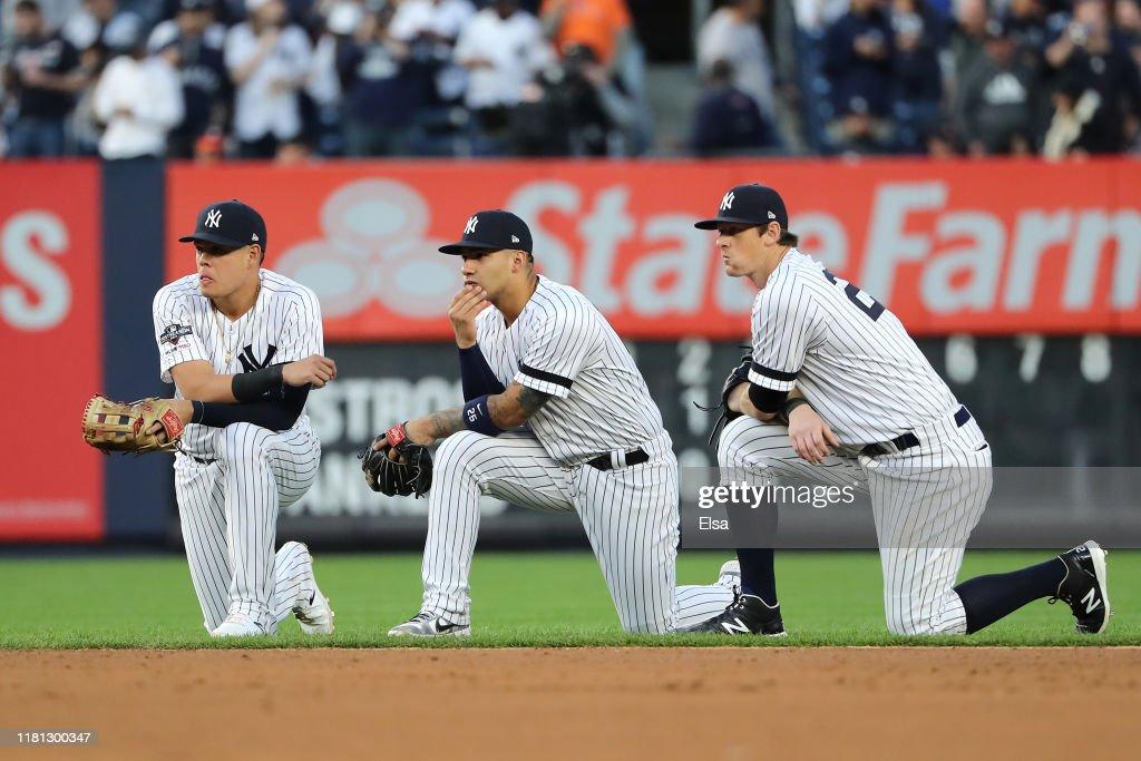 League Championship Series - Houston Astros v New York Yankees - Game Three : ニュース写真