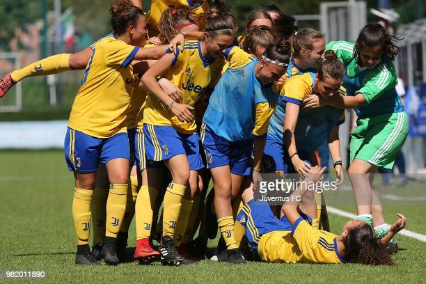 General view during the Primavera Women Final match between Juventus Women U19 and Pink Sport Time U19 at on June 23 2018 in Florence Italy