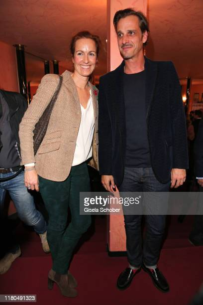 Gioia von Thun and her brother Max von Thun during the premiere of the theater play Sonny Boys at Komoedie im Bayerischen Hof on November 6 2019 in...
