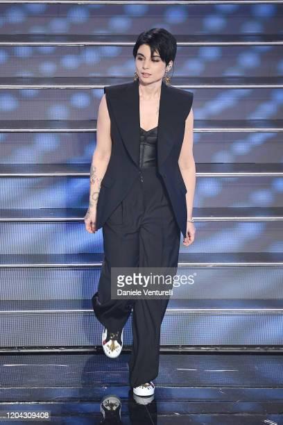 Giordana Angi attends the 70° Festival di Sanremo at Teatro Ariston on February 05 2020 in Sanremo Italy