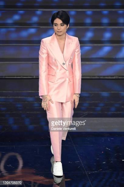Giordana Angi attends the 70° Festival di Sanremo at Teatro Ariston on February 07 2020 in Sanremo Italy