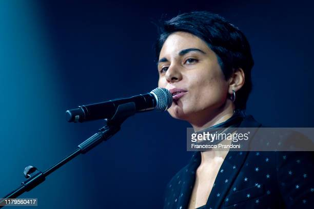 Giordana Angi performs onstage at Alcatraz on October 06 2019 in Milan Italy