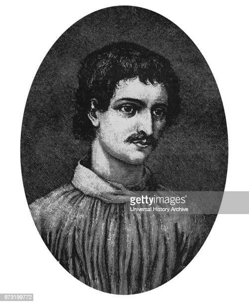 Giordano Bruno born Filippo Bruno was an Italian Dominican friar philosopher mathematician poet and astrologer He is remembered for his cosmological...