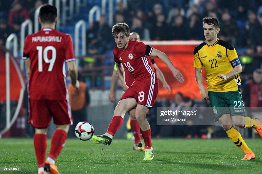 Georgia v Lithuania - International friendly
