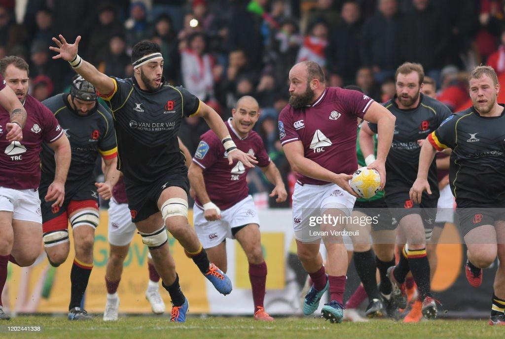 Georgia v Belgium - European Rugby Championship : News Photo