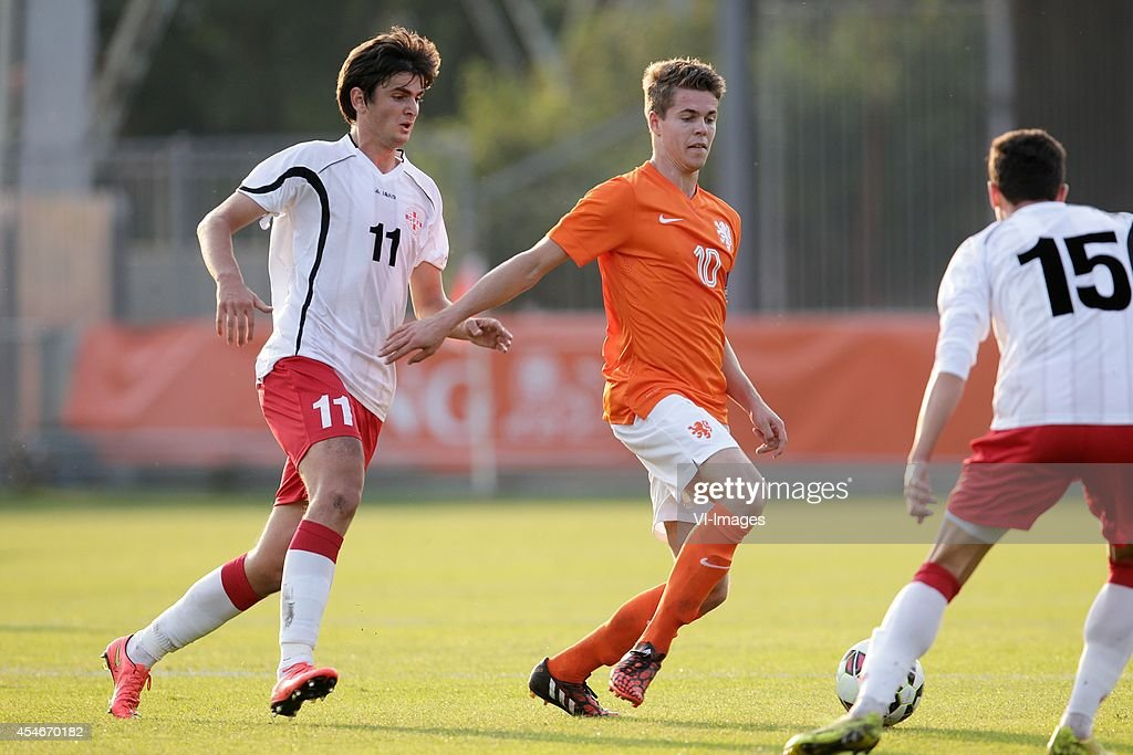 "2015 UEFA U21 Championship qualifier - ""Holland U21 v Georgia U21"" : News Photo"