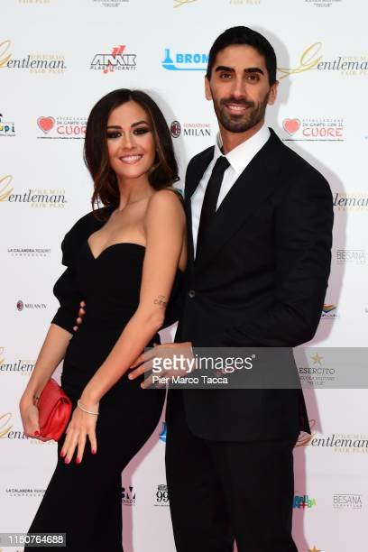 Giorgia Palmas and Filippo Magnini attend the Gentleman Prize event on May 20 2019 in Milan Italy