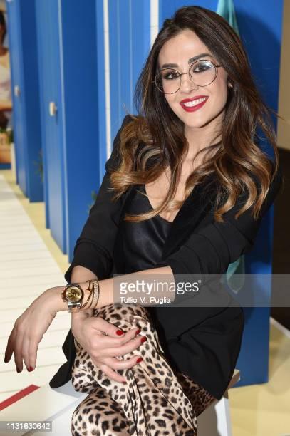 Giorgia Palmas attends MIDO 2019– Milano Eyewear Show on February 23 2019 in Milan Italy