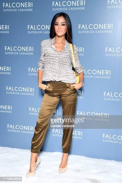 Giorgia Palmas attends the Falconeri fashion show on September 11 2019 in Verona Italy