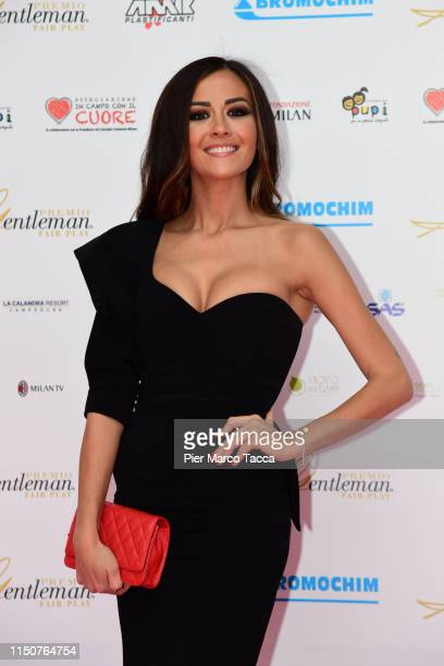 Giorgia Palmas attends the Gentleman Prize event on May 20 2019 in Milan Italy
