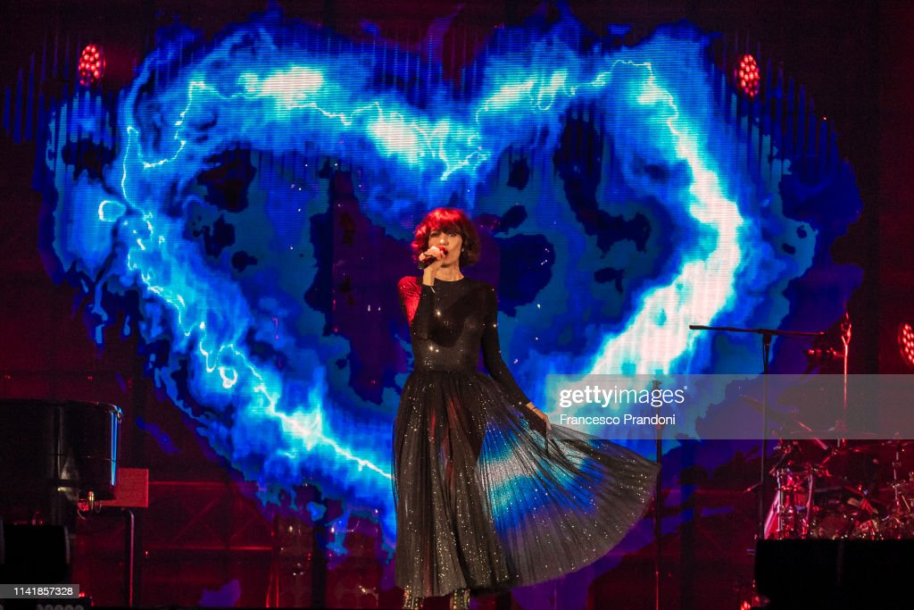 ITA: Giorgia Performs At Palaalpitour In Turin