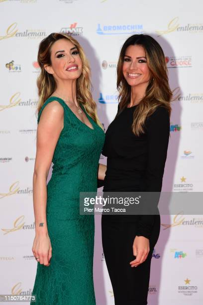 Giorgia Rossi and Alessia Ventura attend the Gentleman Prize event on May 20 2019 in Milan Italy