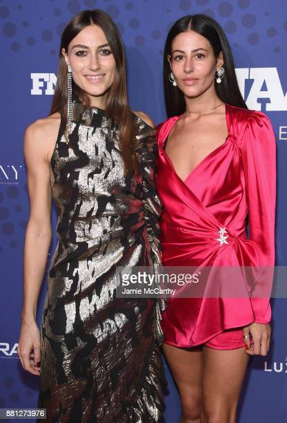 Giorgia Tordini and Gilda Ambrosio attend the 31st FN Achievement Awards at IAC Headquarters on November 28 2017 in New York City