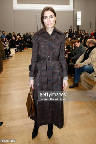 Giorgia Tordini attends the Nina Ricci show as part of the Paris Fashion Week Womenswear Fall/Winter 2017/2018 on March 4 2017 in Paris France