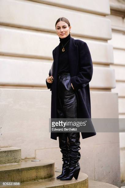Giorgia Tordini attends the Nina Ricci show as part of the Paris Fashion Week Womenswear Fall/Winter 2018/2019 on March 2 2018 in Paris France