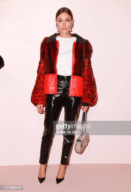 Giorgia Tordini attends Tom Ford FW19 Fashion Show at Park Avenue Armory on February 06 2019 in New York City
