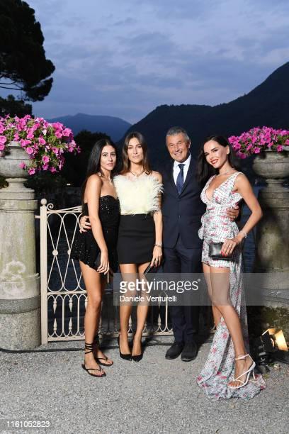 Giorgia Tordini Gilda Ambrosio JeanChristophe Babin and Evangelie Smyrniotaki attend Bvlgari Splendida Tubereuse Mystique Event on July 09 2019 in...