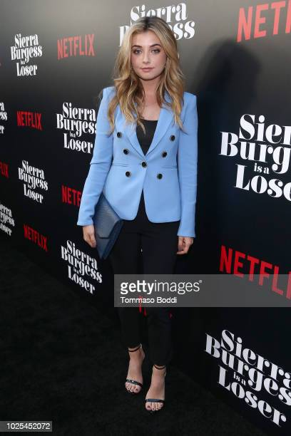 Giorgia Whigham attends the Premiere Of Netflix's Sierra Burgess Is A Loser at ArcLight Hollywood on August 30 2018 in Hollywood California