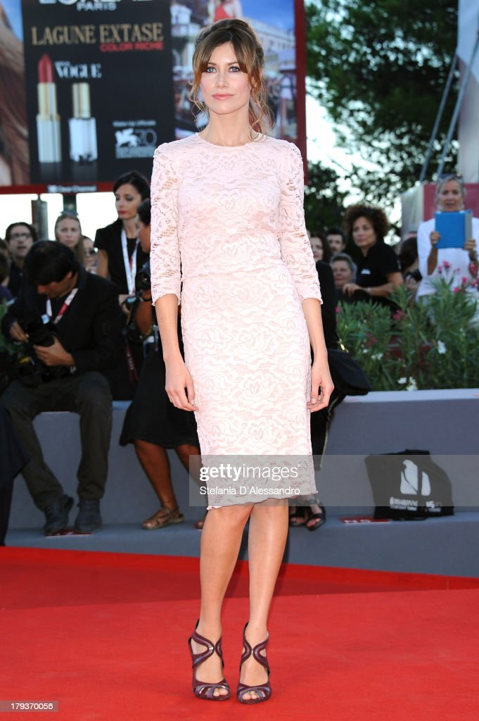 Giorgia Wurth attends the 'The Zero Theorem' Premiere during the 70th Venice International Film Festival at Sala Grande on September 2, 2013 in Venice, Italy.