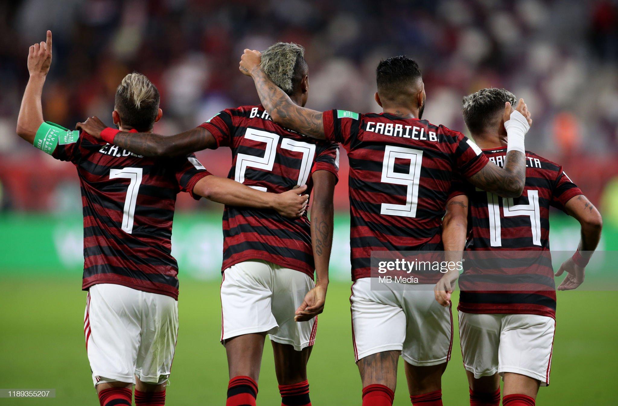 CR Flamengo and Al Hilal SFC Semi-Finals Match - FIFA Club World Cup Qatar 2019 : News Photo