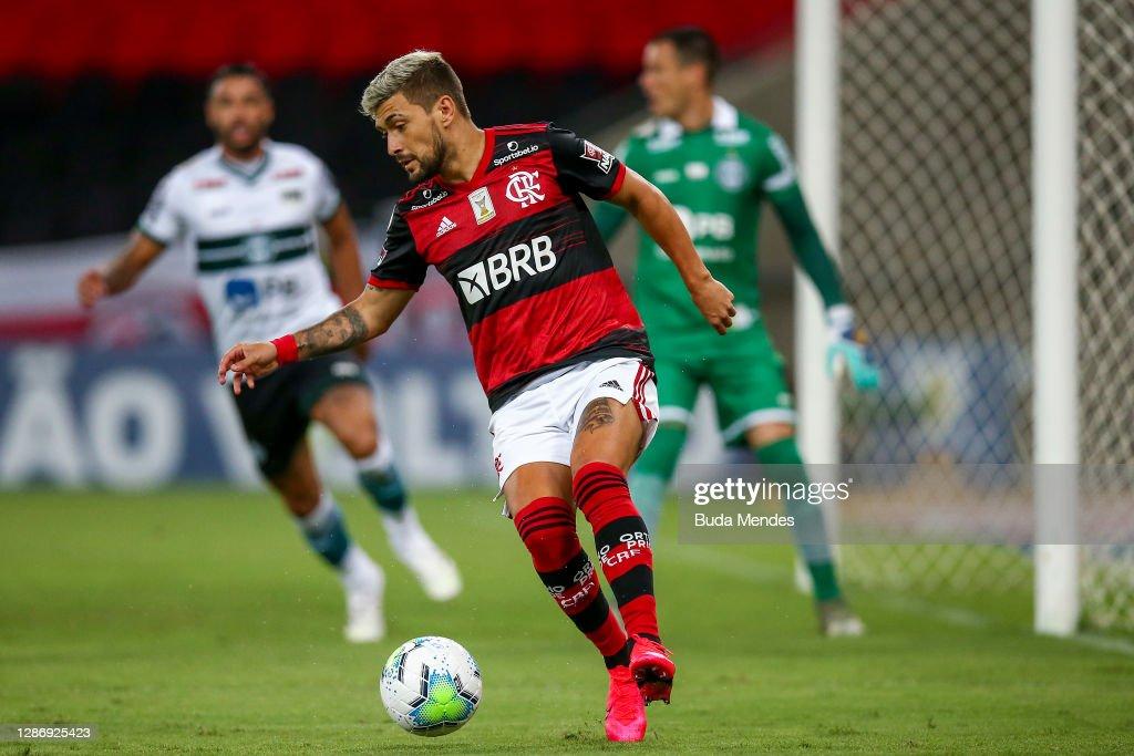 2020 Brasileirao Series A: Flamengo v Coritiba Play Behind Closed Doors Amidst the Coronavirus (COVID-19) Pandemic : News Photo