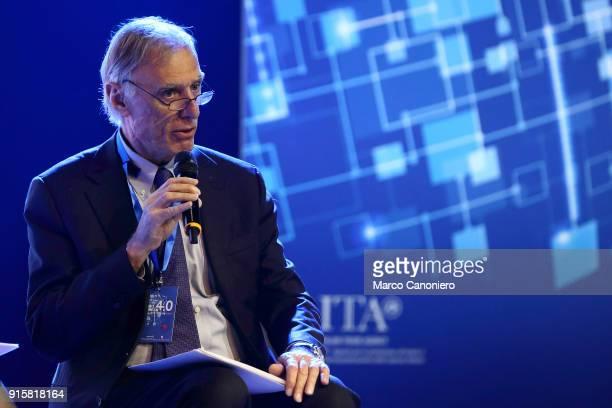 Giorgio Alleva President of Istat during the presentation of results of Piano Impresa 40 Innovazione e competenze