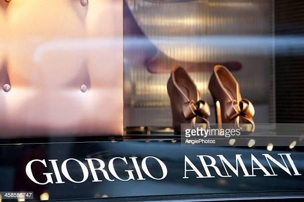 Giorgio Armani display window