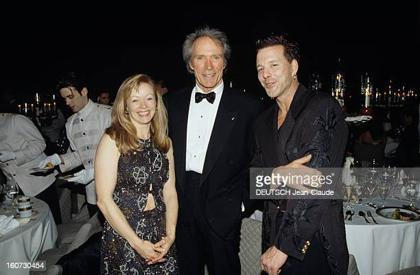Giorgio Armani Hosts All-Hollywood At The Occasion Of The Fire And Ice Ball Evening. Lors du d?ner de la soir?e Fire and Ice Ball, Frances Fisher,...