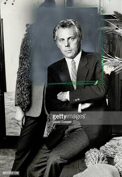 Giorgio Armani. King of the blazer