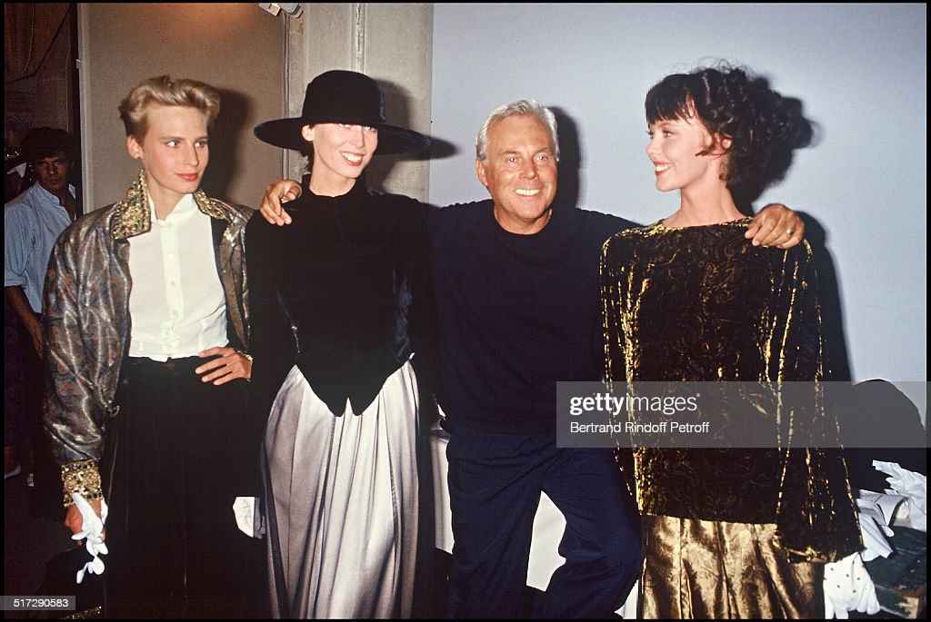Giorgio Armani Party - 1989 : News Photo
